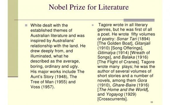 All Australian literature