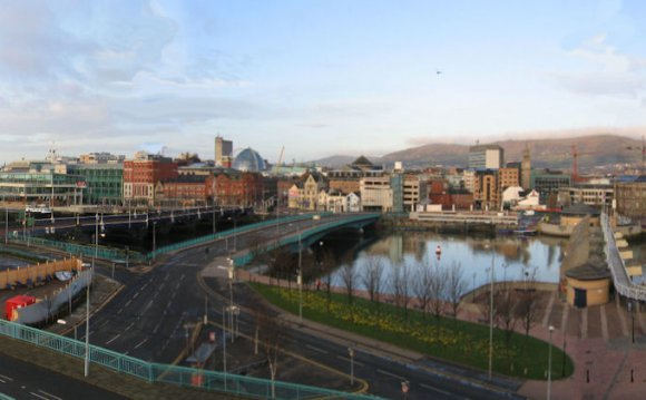 Skyline of Belfast