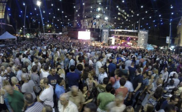 Melbourne Greek festival awash