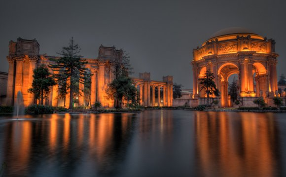 The Palace of Fine arts in San
