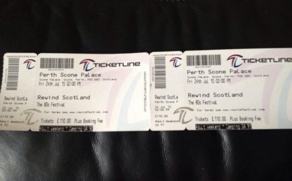 Perth festival tickets - 1