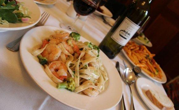 Italian food on Lygon Street
