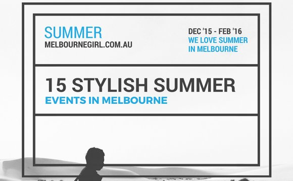Summer Events Melbourne