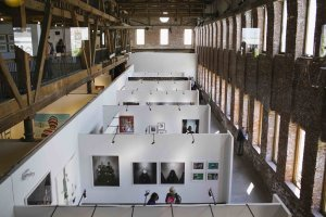 1:54 New York 2015, Pioneer Works, Brooklyn. Photo: © Katrina Sorrentino, courtesy 1:54 Contemporary African Art Fair.