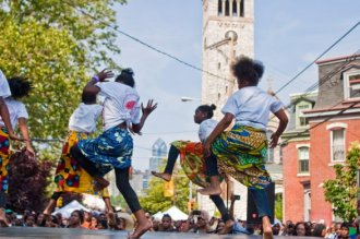 The Odunde Street Festival and African Marketplace