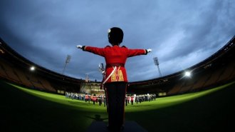 The Royal Edinburgh Military Tattoo brings together a cast of 1200 international performers.