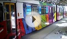 Art Tram for the Melbourne Festival 2015
