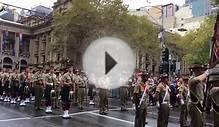 Australian Army Band Anzac Day March Melbourne 2015
