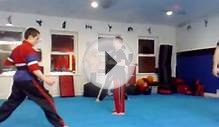 extreme martial arts in Belfast-training session