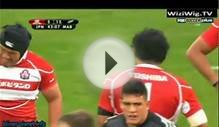 International Rugby Events Japan vs New Zealand Maori 2nd Half