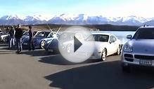 Porsche run, Mount Cook, New Zealand